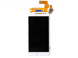 Дисплей (LCD) Motorola XT1641 Moto G4 Plus | XT1642 | XT1644 с тачскрином белый orig