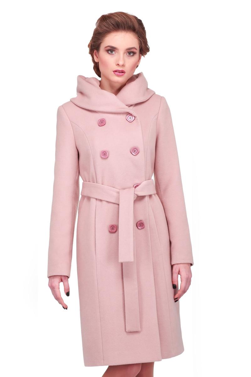 Женское осеннее пальто 42-58 арт. Мелина