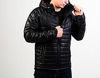 Мужская зимняя куртка черная Найт, фото 1
