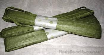 Рафия 43 м, зеленая