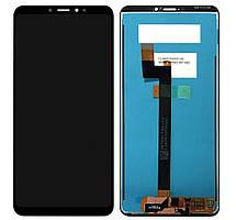 Дисплей (LCD) Xiaomi Mi Max 3 с тачскрином чёрный