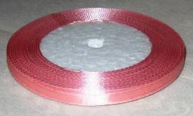 Лента атласная 6 мм, розовая