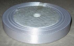 Лента атласная 12 мм, белая