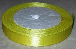 Лента атласная 12мм, желтая