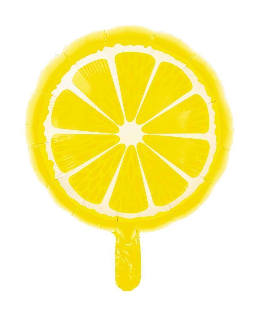 Фольгированный шар Лимон, 45*45 см