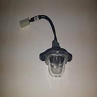 Фонарь освещения номера Ланос / Lanos, 96237708