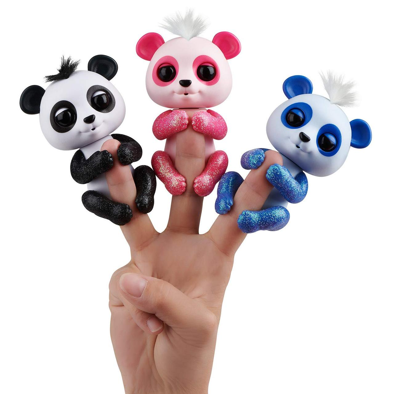 Интерактивная панда, Glitter Panda WowWee Fingerlings Оригинал из США