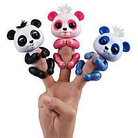 Интерактивная панда, Glitter Panda WowWee Fingerlings Оригинал из США