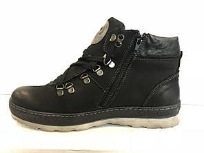 Чоловічі черевики спортивні зима на шнурівці Польща MARIO BOSCHETTI, фото 2