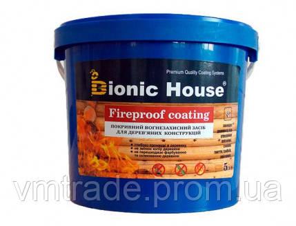 Огнебиозащитная краска антипирен для дерева (Bionic House) 20 кг