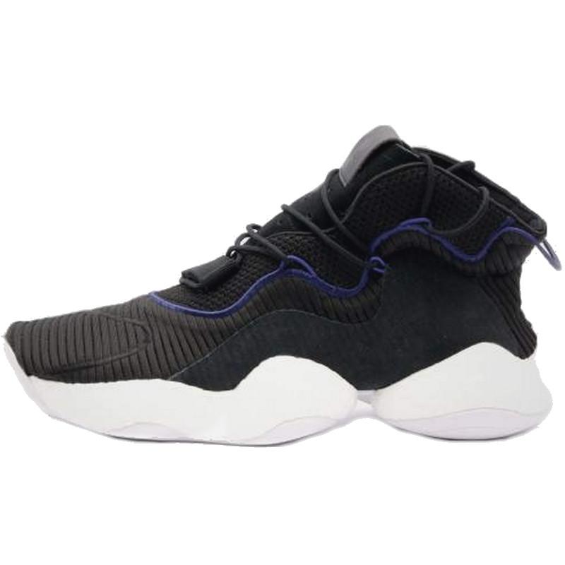 Кроссовки мужские Adidas Crazy BYW (черные) Top replic
