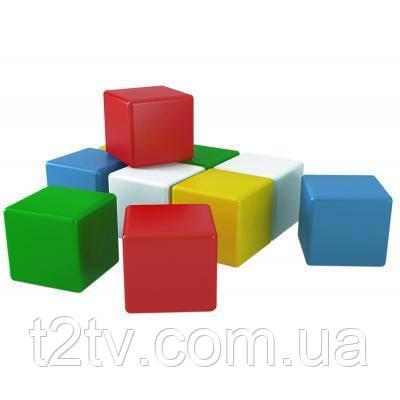 Развивающая игрушка Технок Кубики Радуга 10 шт (1684)