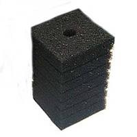 Фильтрующий материал Губка 10х10х15см Мочалка Поролон для головки Resun, среднепористая, 35ppi