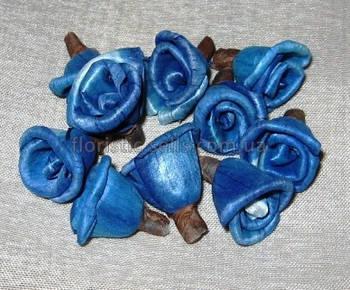 Головки трояндочок латексні 2/1,5 см