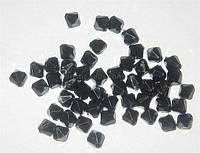 Бусины 8 мм Черный кристалл