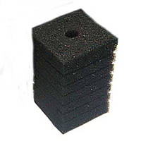 Фильтрующий материал Губка 10х10х20см Мочалка Поролон для головки Resun, среднепористая, 35ppi