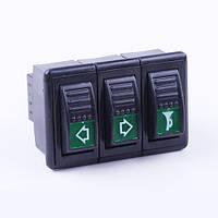 Блок переключателей (2 позиции) DongFeng 240/244