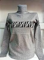 Гольф женский с узором на груди Универсальный рр норма, фото 1