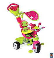 Велосипед трехколесный Baby Driver Confort Sport Fille Smoby 434118