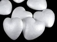 Сердце из пенопласта 10см