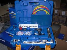 Набор для обработки труб VALUE VTB-5B-1( 2 трубореза,808, коллетор R410A,R407C,R22,R134A, шланги ) чемодан