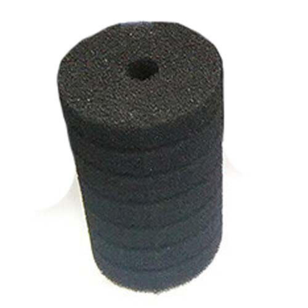 Фильтрующий материал Губка Цилиндр D 10х15см Мочалка Поролон для головки Resun, среднепористая, 35ppi
