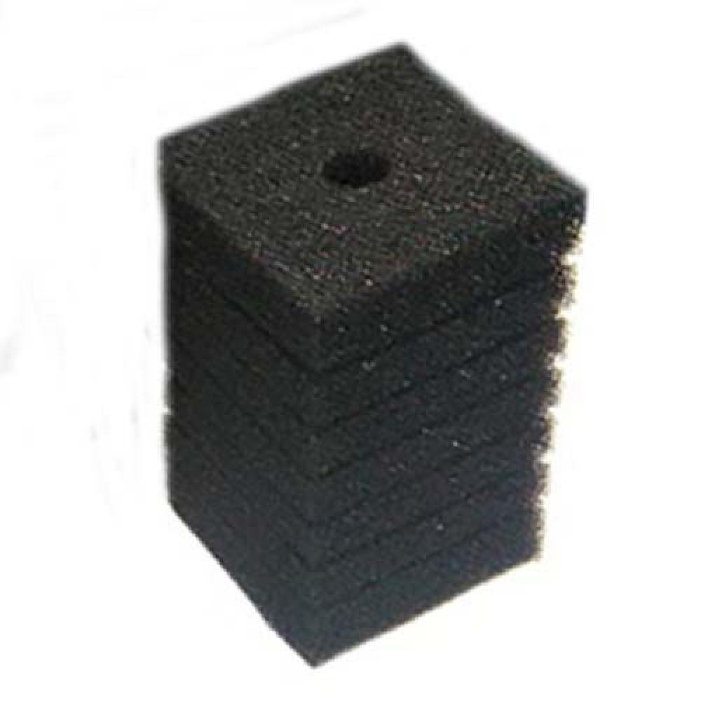 Фильтрующий материал Губка 8х8х14см Мочалка Поролон для головки Resun, среднепористая, 35ppi