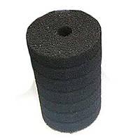 Фильтрующий материал Губка Цилиндр D 10х20см Мочалка Поролон для головки Resun, среднепористая, 35ppi
