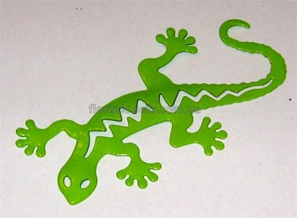 Ящерица - магнит зеленая
