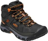 ac719a9695eb Мужские ботинки Keen Targhee Explorer Mid Waterproof Boot Black Steel Grey