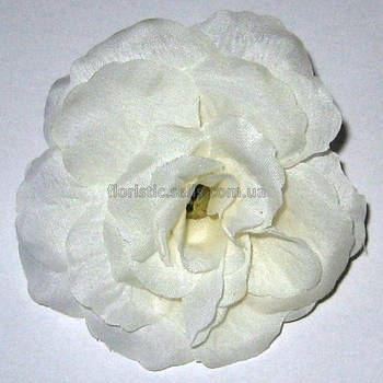 """Головка розы """"молочная"""" 7,5 см"""