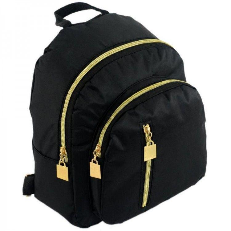 e1a6a23b Небольшой Чёрный Рюкзак Из Нейлона Traum Арт. 7224-50 — в Категории ...