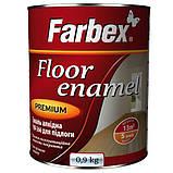 Емаль алкідна ПФ-266 для підлоги Farbex золотисто-коричнева 25 кг, фото 2