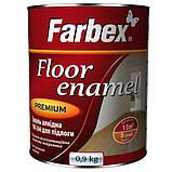 Эмаль алкидная ПФ-266 для пола Farbex красно-коричневая 50 кг, фото 2