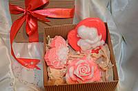 Мыло набор для девушки (3шт)
