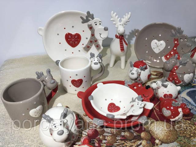 Посуда новогодняя