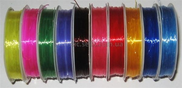 Резинка/леска цветная 0,6