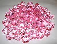 Лед искусственный розовый 50гр