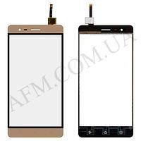 Сенсор (Touch screen) Lenovo A7020 K5 Note золотой