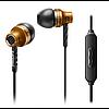 Наушники вакуумные с микрофоном Philips SHE9100 Gold