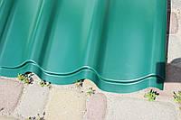 Металлочерепица RAL 6020 (зелёная) MAT 0,45 Premium