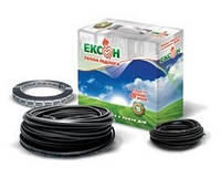 Двужильный нагревательный кабель Эксон-2 16,5 530 (3,2-4,0м²), фото 1