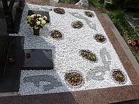 Декоративное оформление и озеленение надгробий