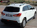 Peugeot 4008 Боковые площадки BlackLine (2 шт, алюминий)