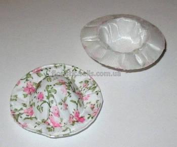 Шляпка декоративная розовая