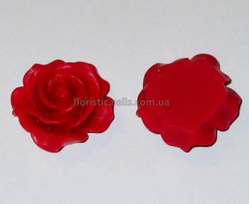 Розочка Fimo 3 см красная