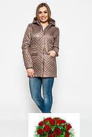 Демисезонная куртка женская Prunel 432, фото 1