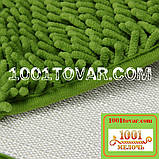 """Коврики из микрофибры """"Макароны или дреды"""" для широкого применения, 60х40 см., светло-зелёный цвет, фото 5"""
