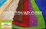 """Коврики из микрофибры """"Макароны или дреды"""" для широкого применения, 60х40 см., светло-зелёный цвет, фото 2"""