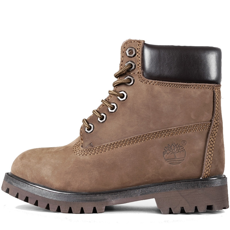 3ae7bc6e Ботинки женские Timberland Classic Boots (коричневые) на МЕХУ! Top replic -  BE SMILE